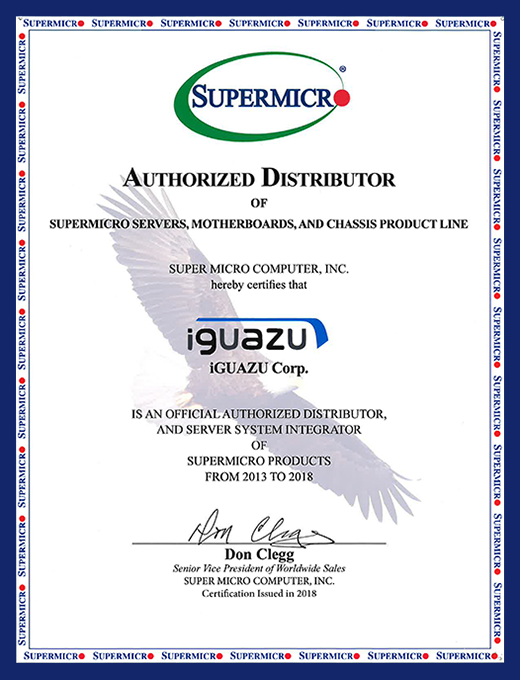 Supermicro Official Authorized Distributor of Servers,Motherboards and Chassis