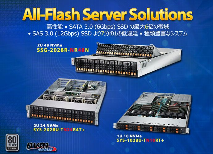 All-Flash Server Solutions