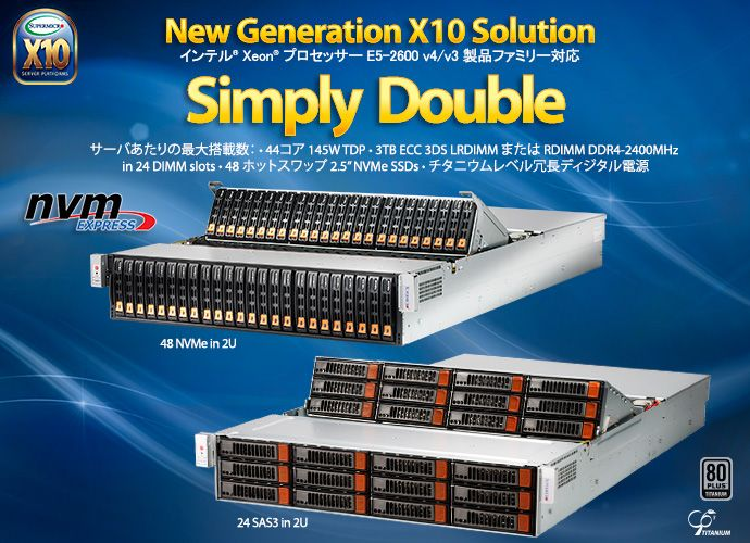 New Generation X10 Solutions - Simply Double